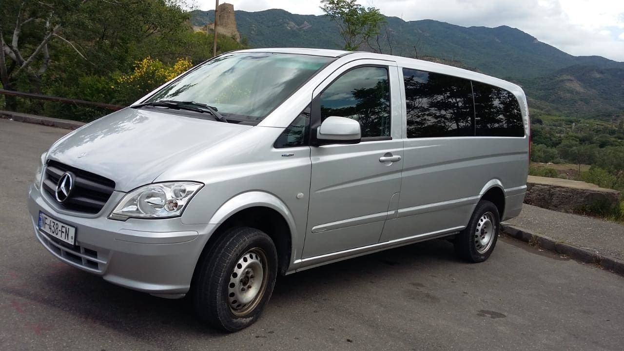 Private transfers in Georgia for 4 persons