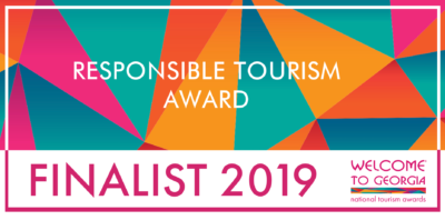 Best in responsible tourism 2019 banner