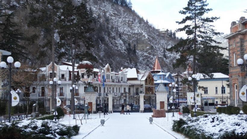 One day winter tour in Borjomi
