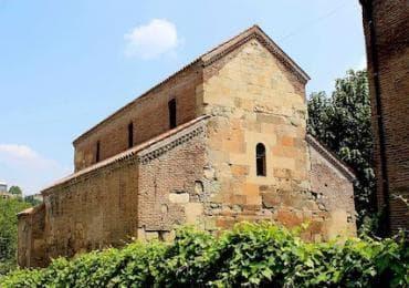 Anchiskahti Basilica in Tbilisi sights