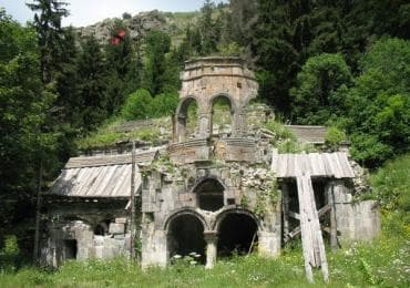 Shoreti monastery in Georgia sights and destinations