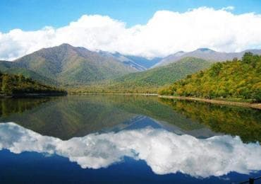 Kvareli Lake in Kakheti
