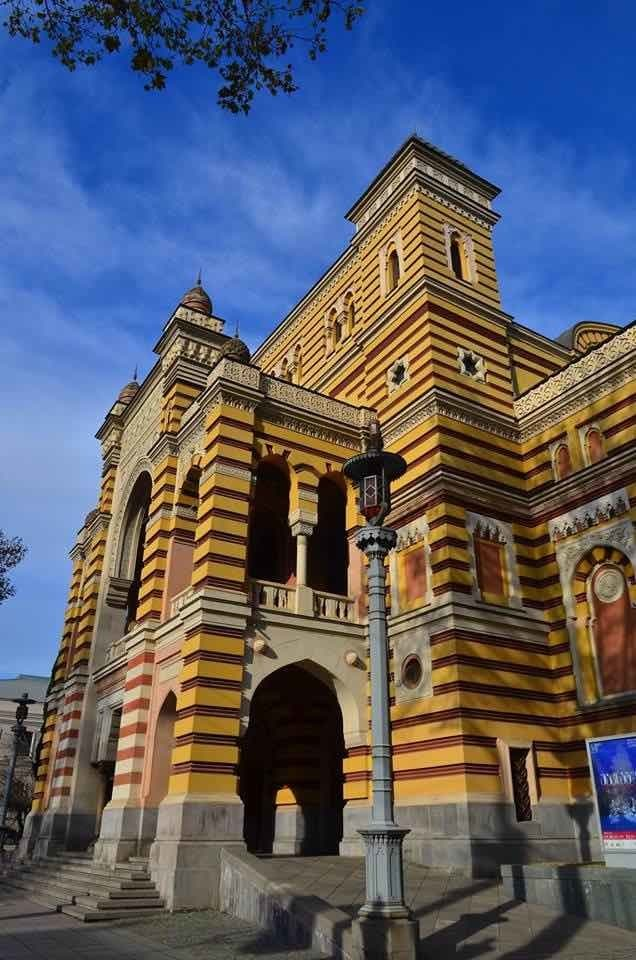 Opera and Ballet Theatre in Tbilisi