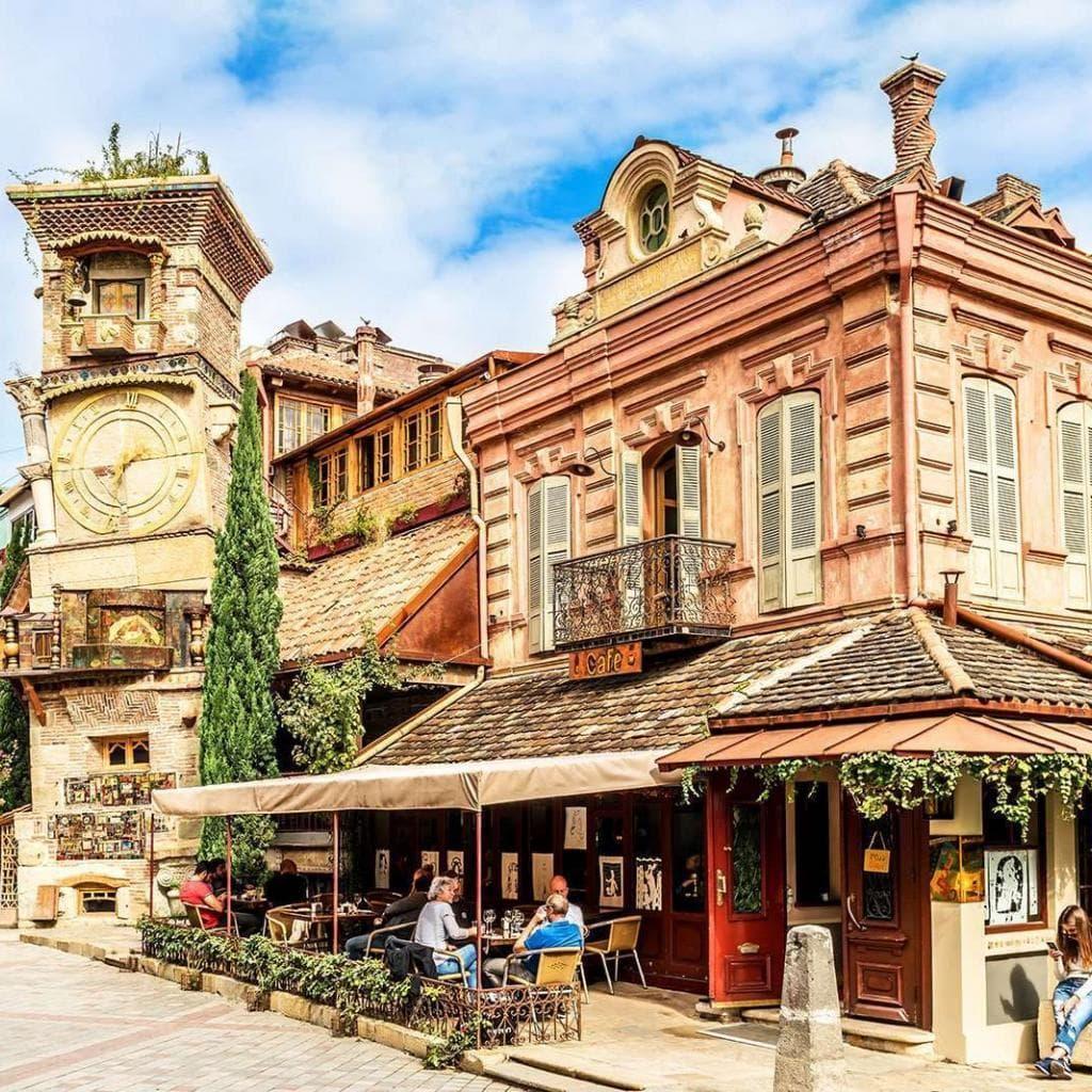 Rezo Gabriadze theatre in Tbilisi