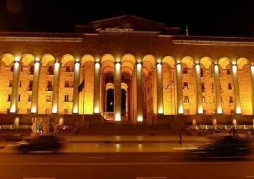 Parliament in Tbilisi