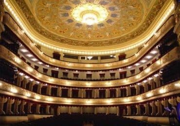 Rustaveli theatre in Tbilisi