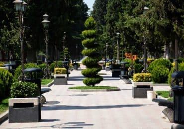 Rustavi park Georgia