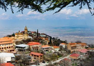 Sighnaghi city in Kakheti