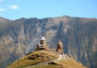 Stepantsminda Gergeti church