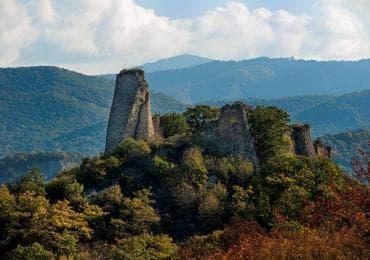 Ujarma fortress in Kakheti