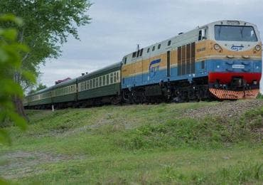 Treno da Tbilisi a Baku