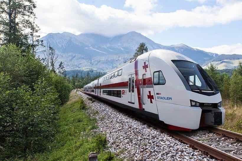 Train from Tbilisi to Batumi