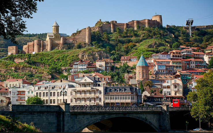 Old Tbilisi and Narikala fortress
