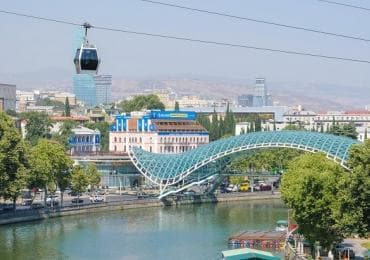 Tbilisi Peace bridge