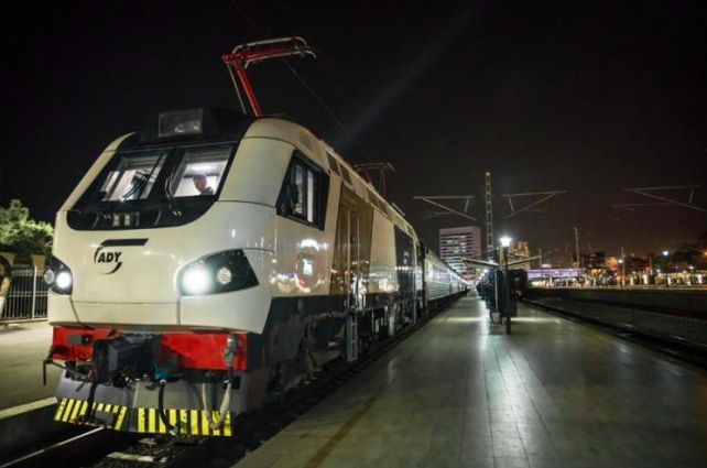 New locomotive Prima M4 on Tbilisi to Baku train