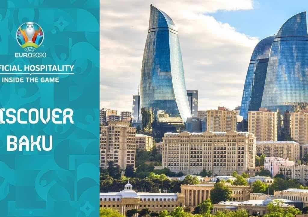 Train tickets to get to Baku EURO 2020 football