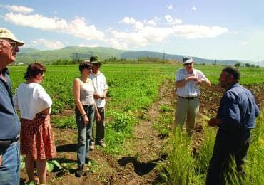 Australian farmers on a tour in Georgia