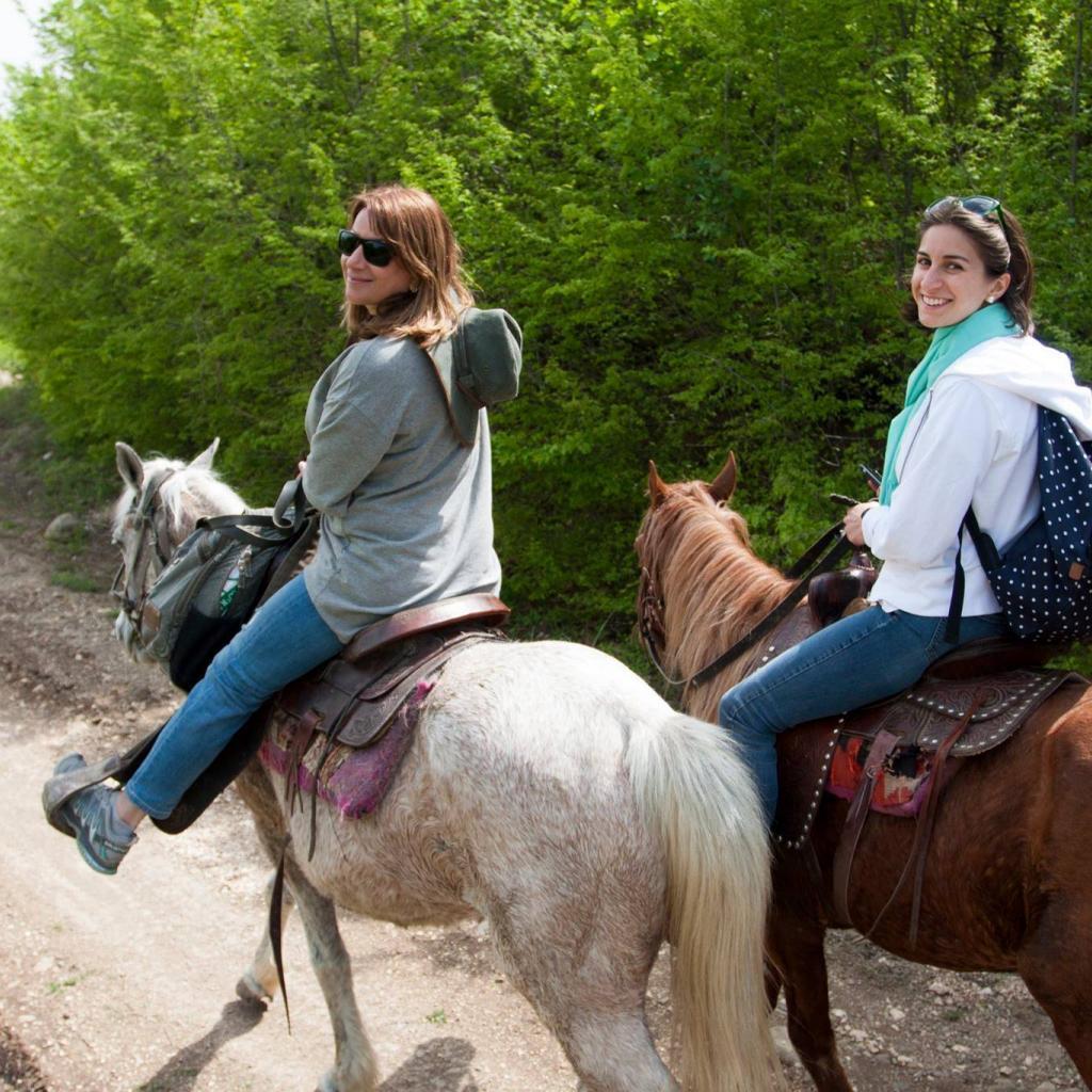 Horse riding in Kakheti, Georgia