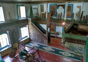 Machakhela Ethnographic museum interior