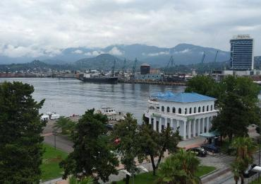 Batumi Port view from the Admiral Hotel