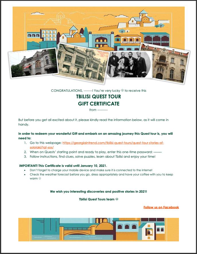 Tbilisi Quest Tours