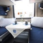 Compartment for 2 SV cabin of Tbilisi Yerevan train